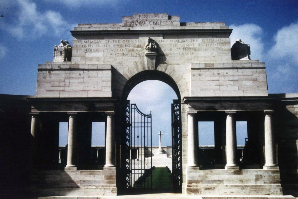 The Poziers Memorial